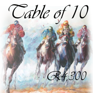 Race Evening Table of 10